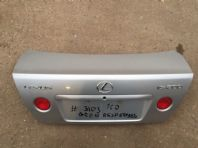 99-05 LEXUS IS200 IS300 BOOTLID BOOT LID SILVER 1CO #3103